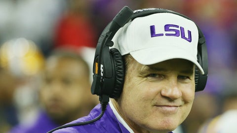 SEC title game: LSU over Tennessee
