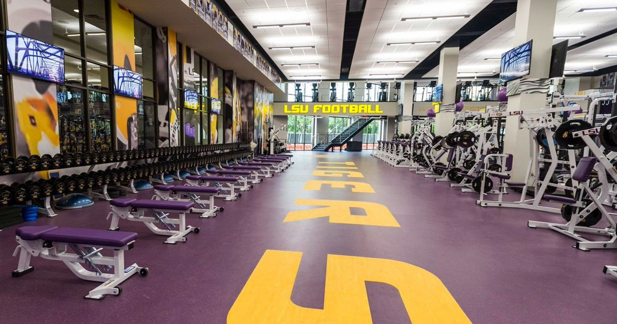 Check Out Lsu S Brand New 2 5 Million Weight Room Fox