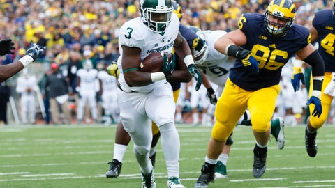 LJ Scott - RB - Michigan State