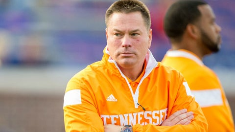 Tennessee's Butch Jones: 76 percent