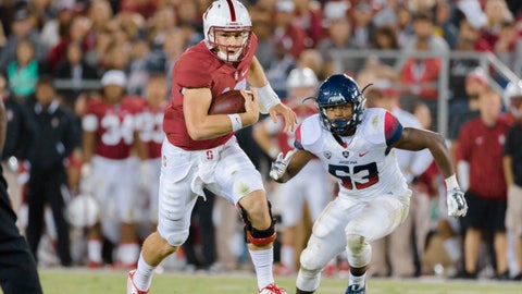 Stanford — Keller Chryst vs. Ryan Burns