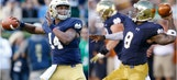 Predicting the winners of 9 major college football QB battles