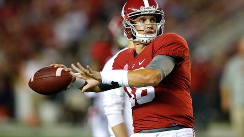 Alabama — Cooper Bateman vs. Blake Barnett
