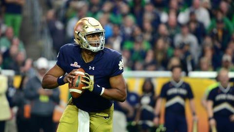 Notre Dame - Malik Zaire vs. Deshone Kizer