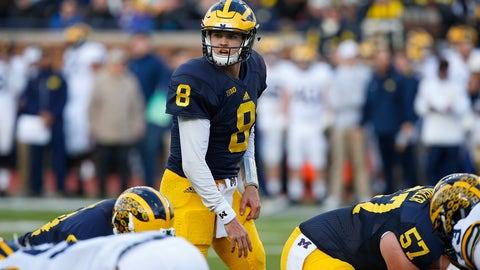 Michigan — John O'Korn vs. Wilton Speight vs. Shane Morris