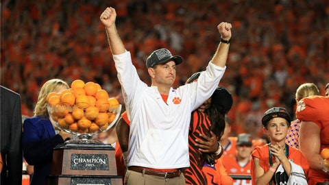 Dabo Swinney remains the most underrated coach in the game