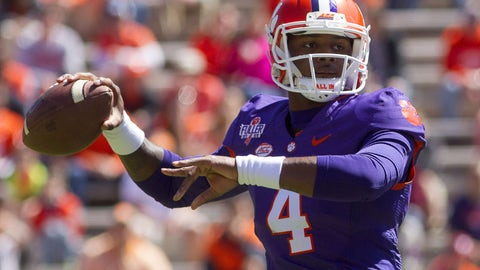 Deshaun Watson will lead Clemson to the promised land