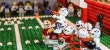 Idaho man uses Legos to re-create college football big plays