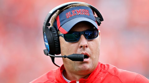 Ole Miss' Hugh Freeze: 97 percent