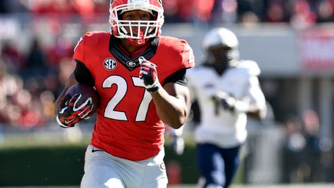 Nick Chubb, UGA, RB