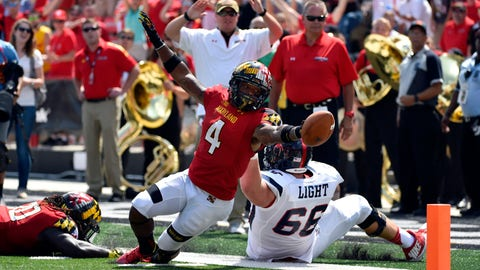 NCAA Football: Richmond at Maryland