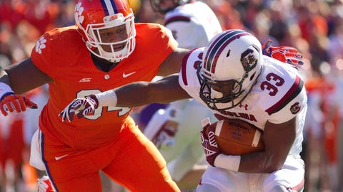 NCAA Football: South Carolina at Clemson