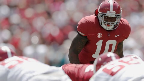 Reuben Foster, LB, Alabama (vs. USC, Saturday, 8 p.m. ET)