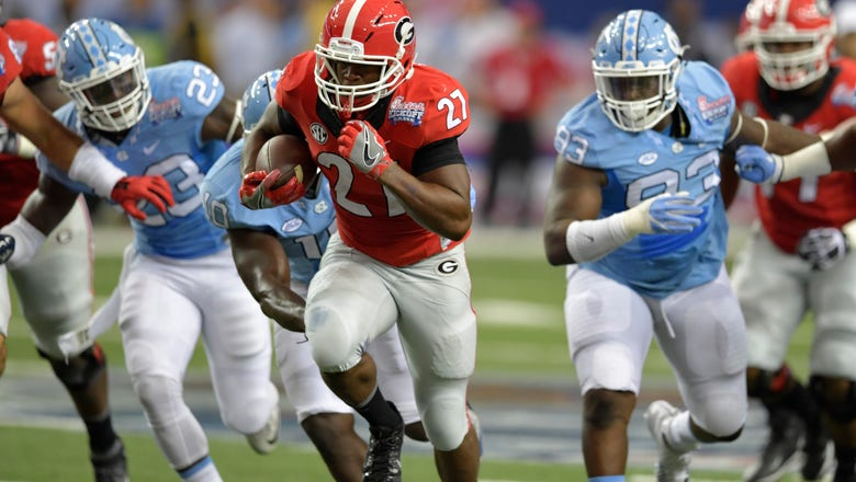Georgia's Nick Chubb showed why he's the most important player in the SEC