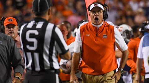 Auburn will be forced to fire Gus Malzahn before the end of the season