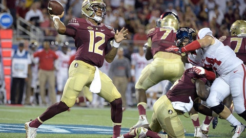 No. 3 Florida State 52, Charleston Southern 8