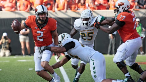 Oklahoma State (1-0), re-rank: 21