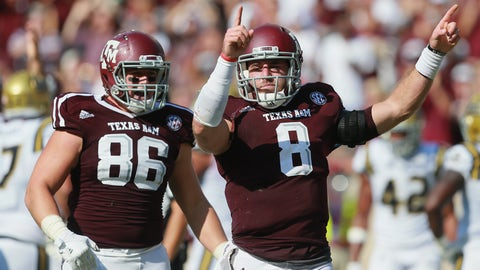 Texas A&M (1-0), re-rank 18