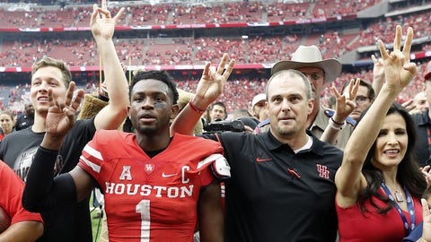 No. 6 Houston 42, Lamar 0