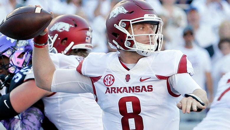 Arkansas has the same goal after upsetting TCU: 'win the SEC championship'