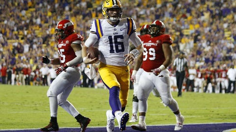 LSU (1-1), re-rank: 21