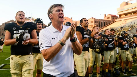 Home Depot Award: Mike MacIntyre, Colorado