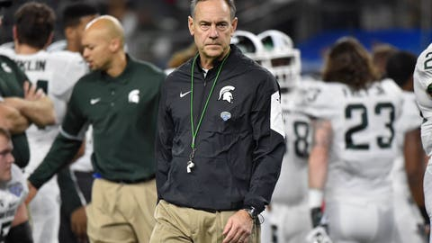 Michigan State (+7.5) at Notre Dame