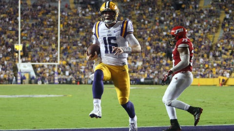 No. 20 LSU 23, Mississippi State 20