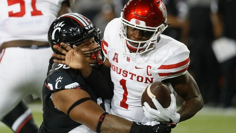 No. 6 Houston 40, Cincinnati 16