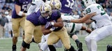 Browning throws 4 TDs; No. 8 Washington rolls to easy win
