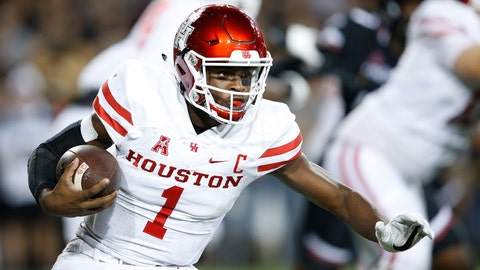 Houston QB Greg Ward Jr.
