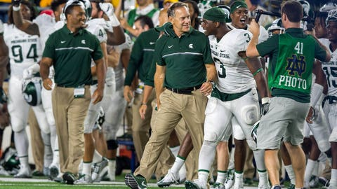 Michigan State should be a contender in the loaded Big Ten East
