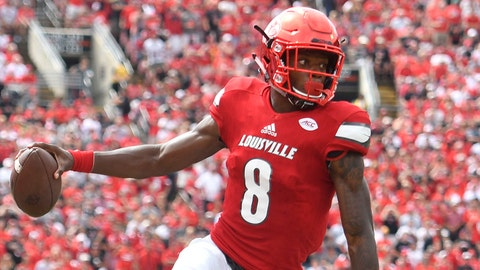 Louisville, 5-1 (opened at 60-1)