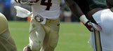 No. 13 Florida State rebounds and routs South Florida 55-35