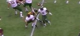 Minnesota defensive end nearly takes QB's head off with huge hit