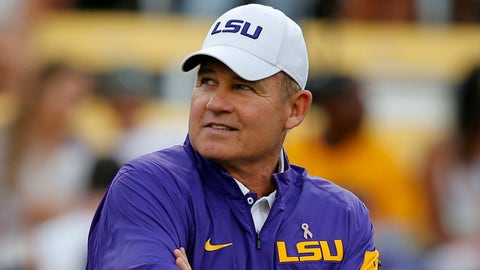 Les Miles will become the hottest name on the coaching market this off-season