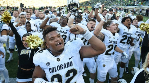 Colorado Buffaloes (OVER 7 ½ wins)