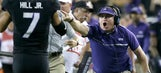 TCU's Patterson unhappy with refs, takes swipe at Mayfield