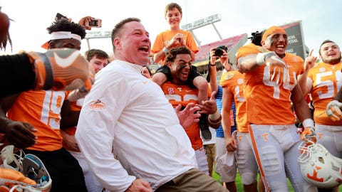 Butch Jones is the luckiest man alive