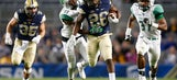Pitt holds off rally, tops Marshall 43-27