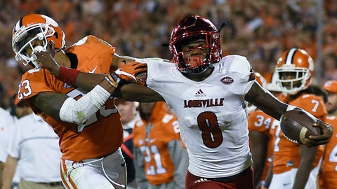 Clemson at Louisville (September 16th)