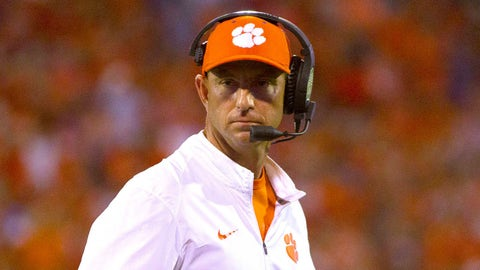 Clemson at Wake Forest (Saturday, 7:00 p.m. ET)