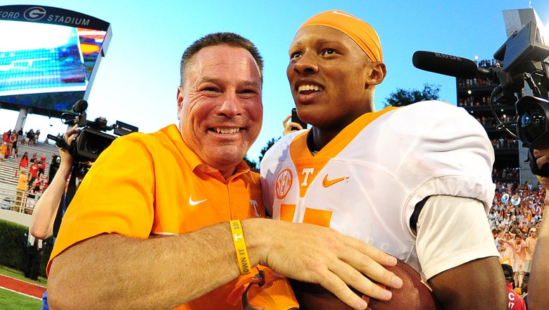 Tennessee is the luckiest team in the SEC (and also very good)