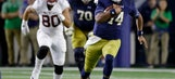 Stanford rallies from 10 points down, beats Notre Dame 17-10
