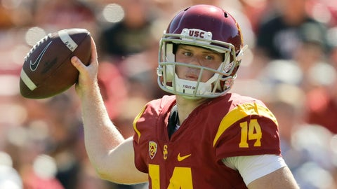 Notre Dame at USC (-17.5)