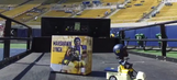 The Cal Bears are giving away this incredible Marshawn Lynch bobblehead