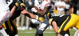 Clement carries No. 10 Wisconsin to 17-9 win over Iowa