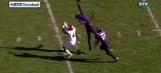 Northwestern defender pulls down incredible one-handed, full-extension interception