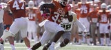 No. 11 WVU players give 'props' to elusive Texas RB Foreman