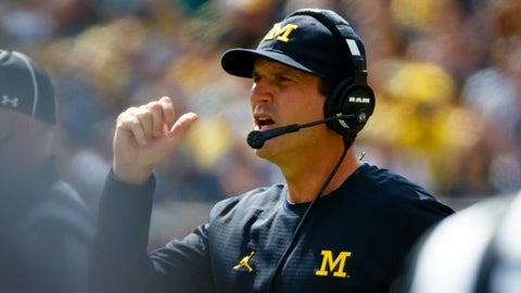 Jim Harbaugh, Michigan head coach